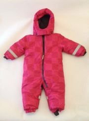 BABY-Schneeoverall Gr 74 - rot