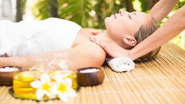 Massage Wellness Entspannung