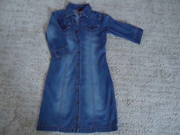 Mädchen Jeanskleid Gr 146 von