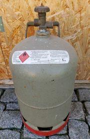 Gasflasche grau Eigenflasche 5 kg
