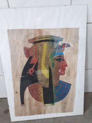 Ägyptisches Bild Papyrus