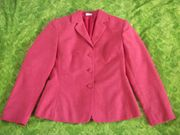 Damen Blazer S Rot Jacke