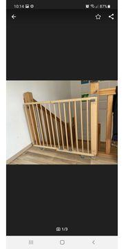 Geuther schwenkbares Treppenschutzgitter 2734 bis