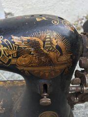 Singer Nähmaschine mit Ägypten Muster