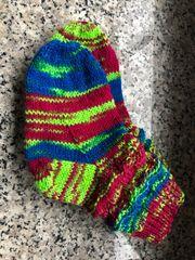 Babysocken handgestrickte Socken 22 23