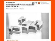 Vertriebstalent Personalauswahl-Tools m w d