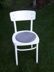 4 Stühle incl Sitzpolster