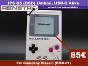 Umbau Mod Service Nintendo Gameboy