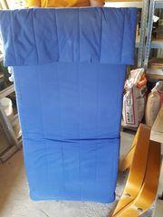 Ikea Wippsessel blau