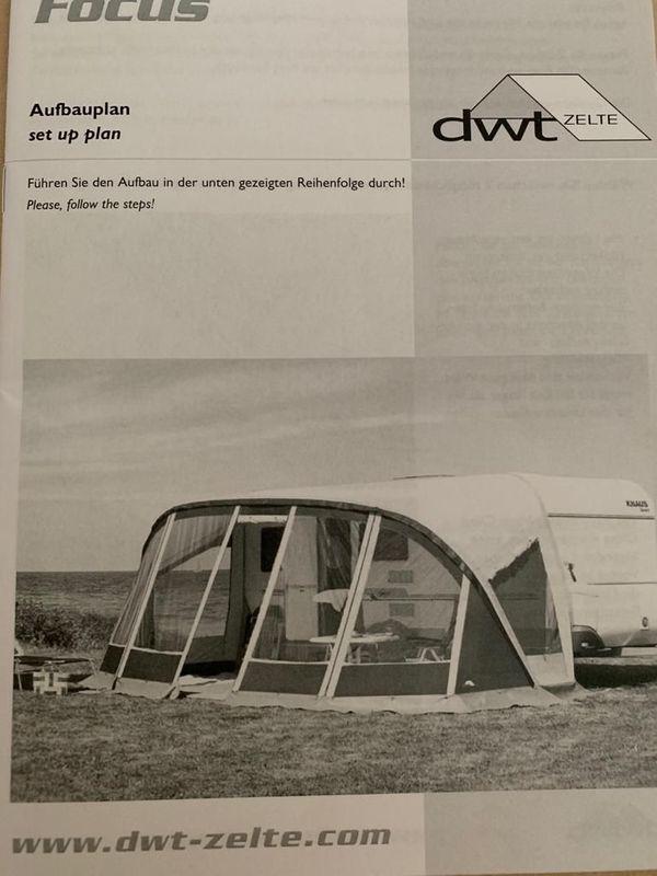 Wohnwagen Vorzelt DTW Focus
