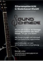 Gitarrenunterricht in Niederkassel