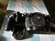 Nikon D3000 Spiegelreflexkamera
