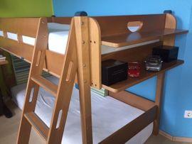Bild 4 - Paidi Kinderhochbett Varietta in Buche - Mannheim