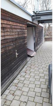 Garage Stadtteil BC-Rissegg mit Tor