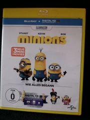 Minions in Blu-ray