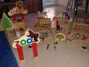 Toller Holz-Zoo aus Holz mit