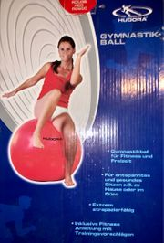 3 Gymnastik- Sitz-Bälle HUDORA 65cm