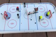 Playmobil Eishockey-Arena mit Eisbearbeitungsmaschine