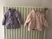 2 Jacken für Mädchen Gr