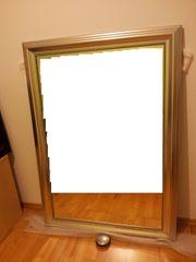IKEA Spiegel Levanger Silber 90x130