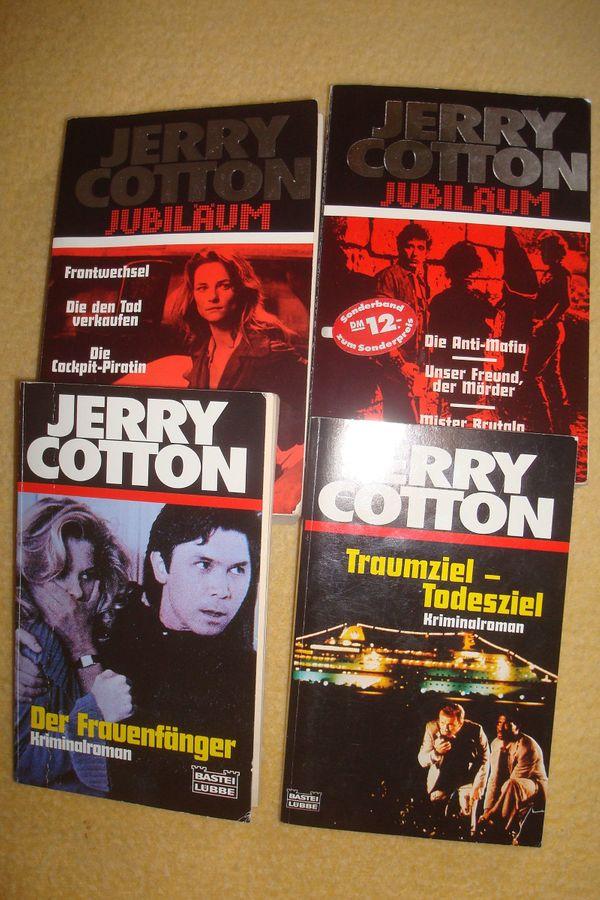 Jerry Cotton Taschenbücher Großbände