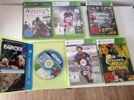 X-Box, Gerät & Spiele - 8 Xbox 360 Spiele