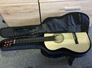 Gitarre mit Tasche