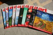 Verkaufe Art Hefte Jahrgang 2003