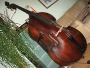 Kontrabass Bass Hervorragender Klang Antik