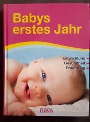 Buch Elternratgeber Babys erstes Jahr