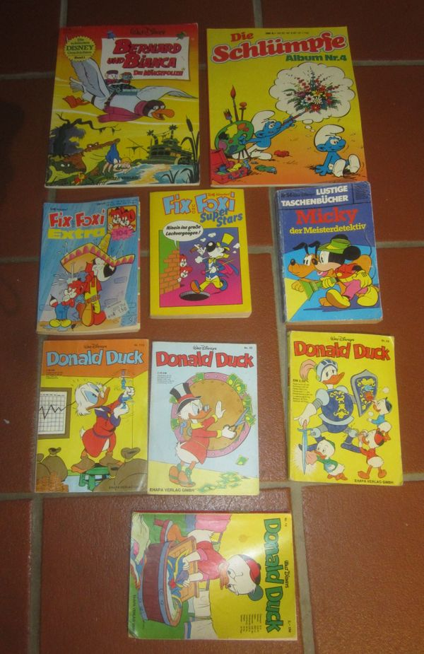 Alte Comics 70er Jahre Donald