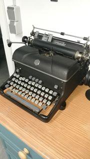 Alte Torpedo Schreibmaschine