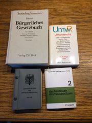 Bücher BGB UmwR Wehrausbildung ab