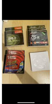 DVD und CD Rohlinge