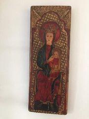 Replika romanische Madonna - neuwertig