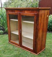 Hängeschrank Küchenschrank mit Glastüren Massivholz