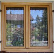 Isolierglas-Fenster zweiteilig
