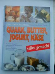 Buch Quark Butter Jogurt Käse