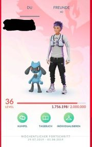 pokemon go Account lv 36