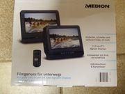 DVD-Player Doppelbildschirm tragbar für das