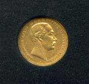 10 Mark Gold Friedrich Franz