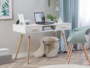 Schreibtisch weiß 120 x 45