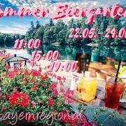 Sommer Biergarten bayernregional Messe