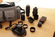 Komplette Fotoausrüstung Canon T90