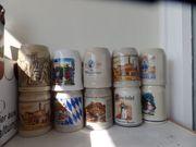 17 St Bierkrug Sammlerkrug Bier
