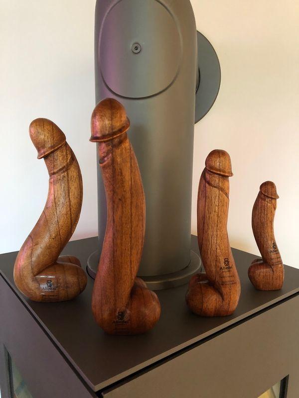 Holz Dildo