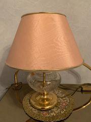 Tischlampe Bleikristall Nachtmann