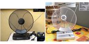 Zimmerantenne Verstärker 2x UHF VHF