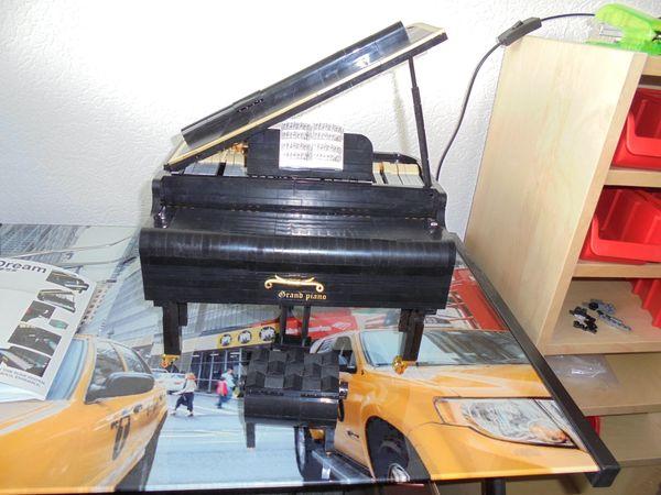 klemmbausteine schwarzes piano über 2000