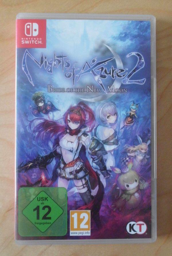 Switch Spiel Nights of Azure
